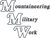 Mountaineering Military Work