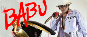 BABU 展覧会 『愛』