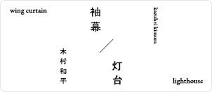 木村和平,袖幕,灯台