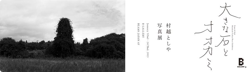村越としや 写真展 「大きな石とオオカミ」