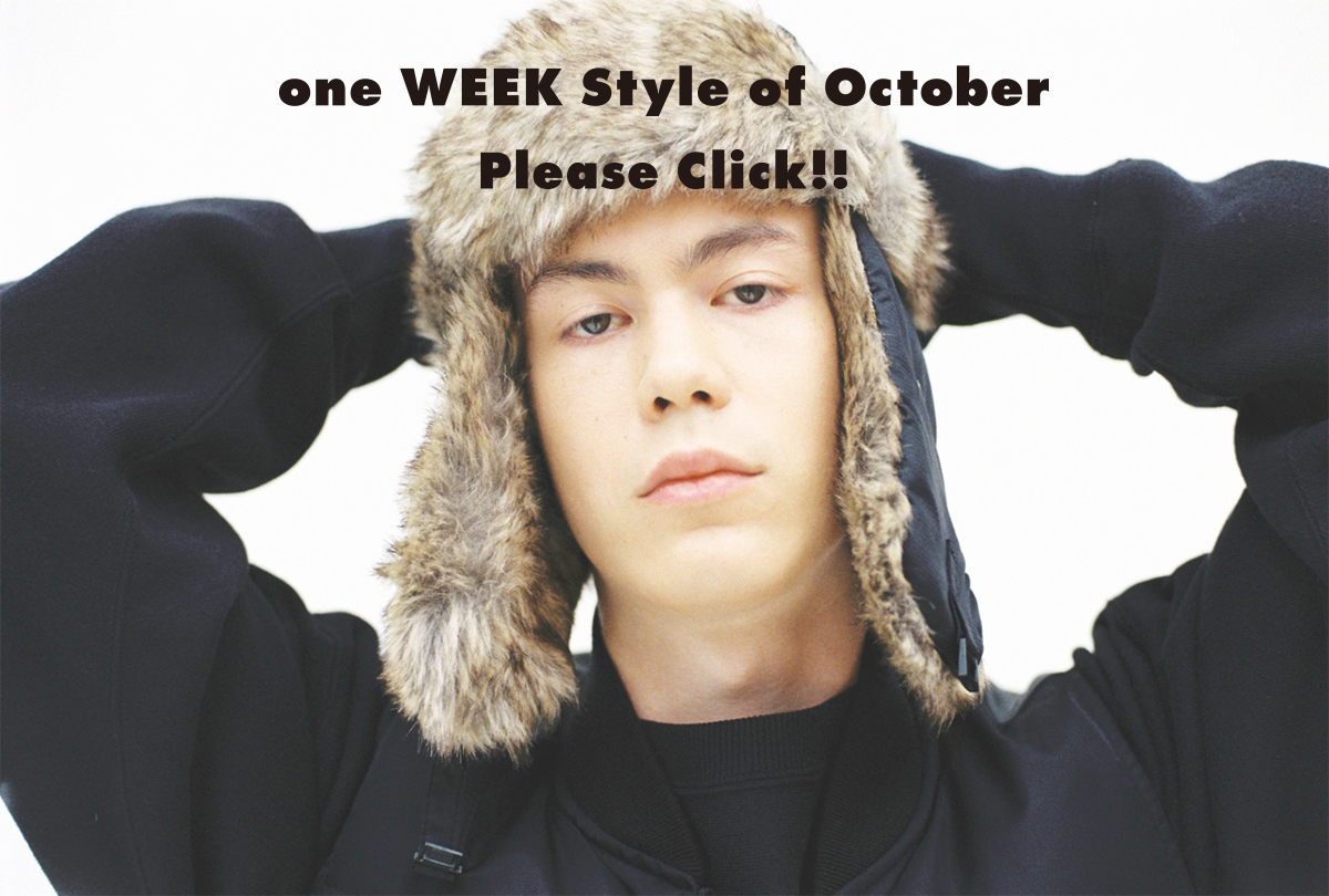 for one WEEKs (#02_7Styles of October) 2016 Autumn&Winter