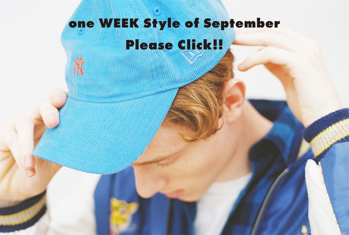 for one WEEKs (#01_7Styles of September) 2016 Autumn&Winter