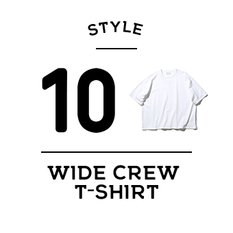 STYLE 10 WIDE CREW T-SHIRT