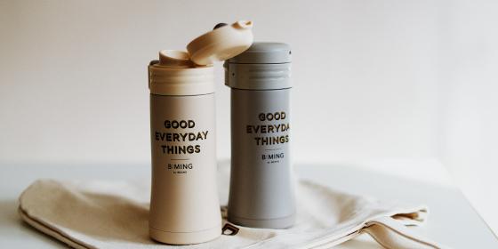 <thermo mug>別注ワンタッチボトル